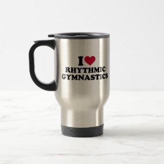 I love rhythmic gymnastics travel mug