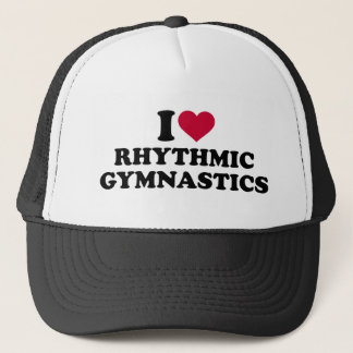 I love rhythmic gymnastics trucker hat