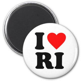 I LOVE RI MAGNET