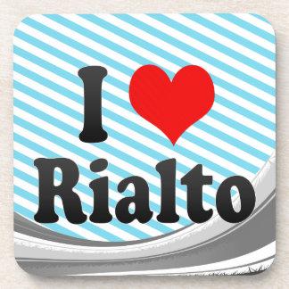 I Love Rialto United States Coaster