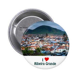 I Love Ribeira Grande 2 Inch Round Button