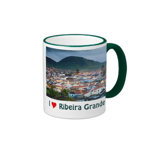 I Love Ribeira Grande Coffee Mugs