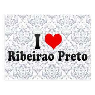 I Love Ribeirao Preto, Brazil Postcard