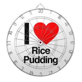 i love rice pudding dartboards