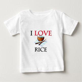 I Love Rice Shirts