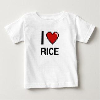 I Love Rice Tee Shirts