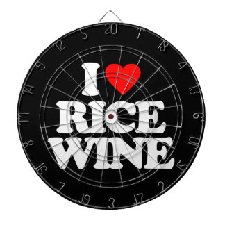 I LOVE RICE WINE DART BOARDS