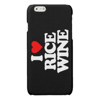 I LOVE RICE WINE GLOSSY iPhone 6 CASE