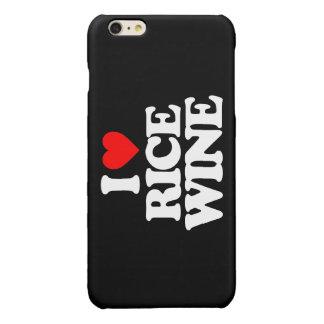 I LOVE RICE WINE GLOSSY iPhone 6 PLUS CASE