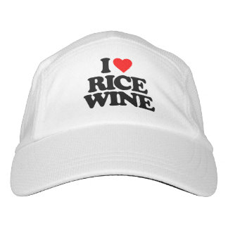 I LOVE RICE WINE HEADSWEATS HAT