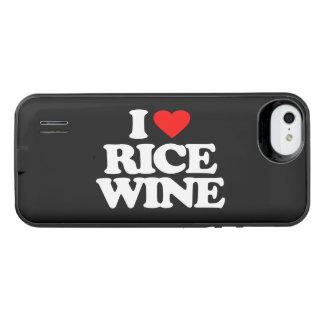 I LOVE RICE WINE iPhone SE/5/5s BATTERY CASE