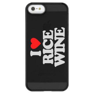 I LOVE RICE WINE PERMAFROST iPhone SE/5/5s CASE
