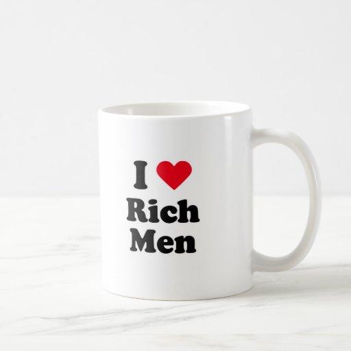 I love rich men coffee mugs