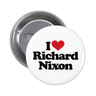 I Love Richard Nixon Pinback Button