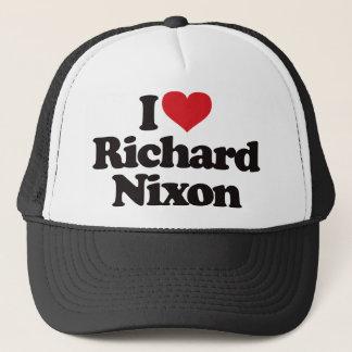 I Love Richard Nixon Trucker Hat