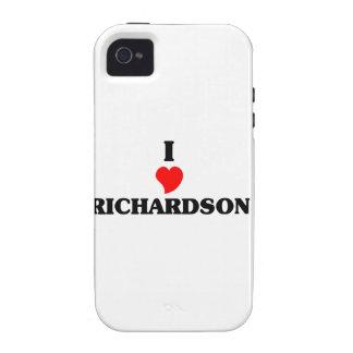 I love Richardson iPhone 4 Cases