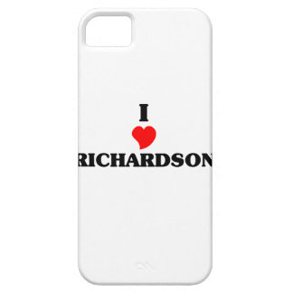 I love Richardson iPhone 5 Covers