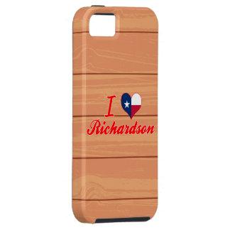 I Love Richardson, Texas iPhone 5 Cases