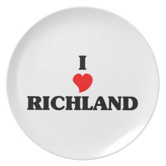 I love Richland Dinner Plate