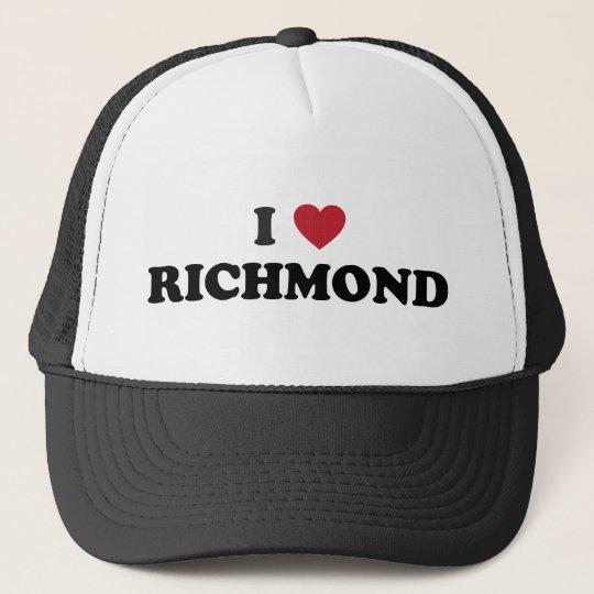 I love Richmond California Trucker Hat
