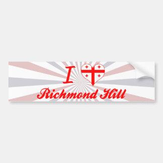 I Love Richmond Hill, Georgia Bumper Stickers