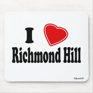 I Love Richmond Hill Mouse Pad