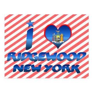 I love Ridgewood, New York Postcards