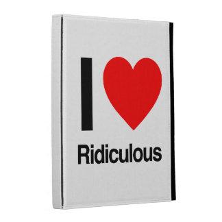 i love ridiculous iPad folio case