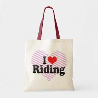 I Love Riding Bags