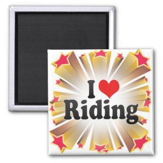 I Love Riding Refrigerator Magnets