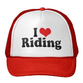 I Love Riding Trucker Hat