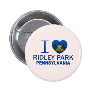 I Love Ridley Park, PA Pinback Buttons