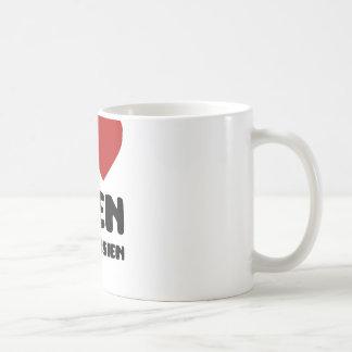 I Love 'Rien' I'm Parisien :) Classic White Coffee Mug