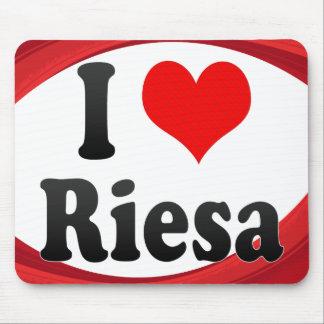I Love Riesa Germany Ich Liebe Riesa Germany Mousepads