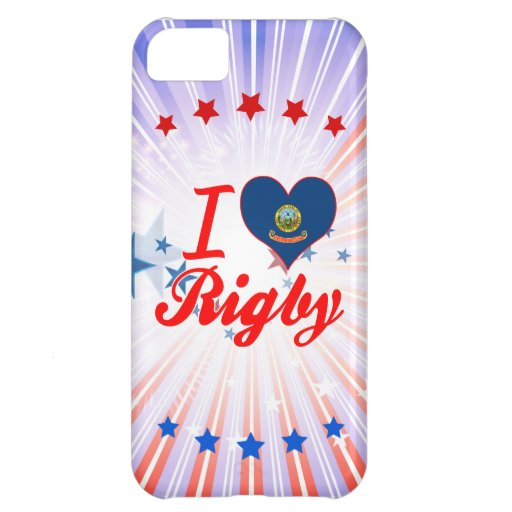 I Love Rigby, Idaho Cover For iPhone 5C