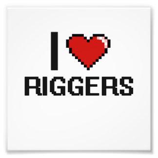 I love Riggers Photo Print