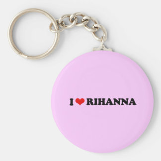 I LOVE RIHANNA / I HEART RIHANNA KEYCHAIN