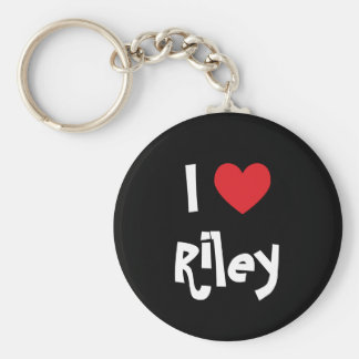 I Love Riley Keychain