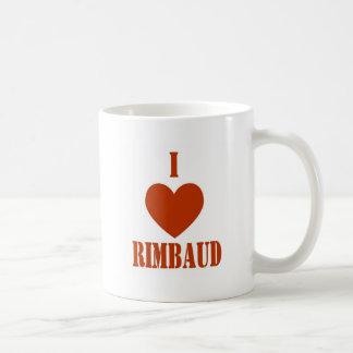 I love Rimbaud Coffee Mug