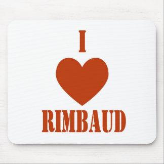 I love Rimbaud Mousepads
