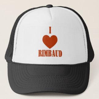 I love Rimbaud Trucker Hat