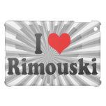 I Love Rimouski, Canada. I Love Rimouski, Canada iPad Mini Covers
