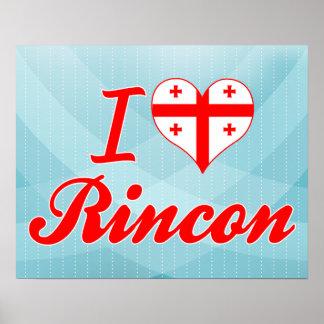 I Love Rincon, Georgia Poster