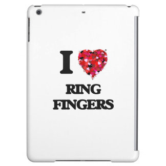 I love Ring Fingers iPad Air Covers