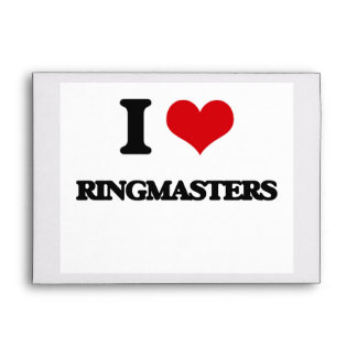I love Ringmasters Envelope