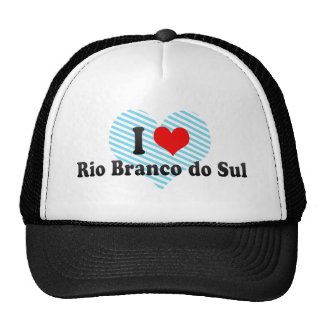 I Love Rio Branco do Sul, Brazil Trucker Hat