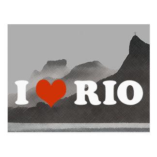 I love Rio de Janeiro ~ Brasil Postcard