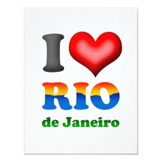I Love Rio de Janeiro, Brazil The Wonderful City Card