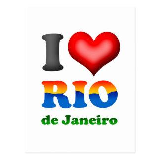 I Love Rio de Janeiro, Brazil The Wonderful City Postcard