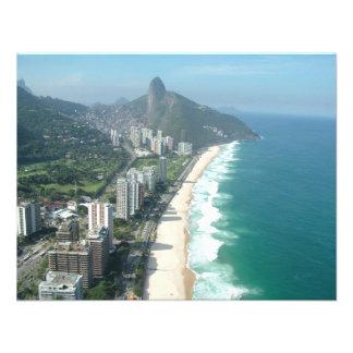I Love Rio de Janeiro Personalized Invitations
